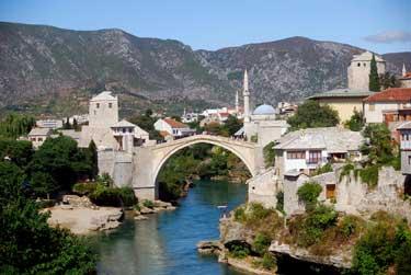 Kroatien - Bosnien - Serbien