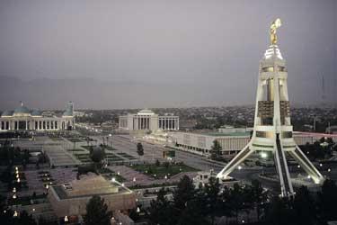 Turkmenistan Reisen