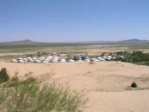 Mongolei mit Wüste Gobi - die Farben der Natur