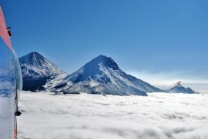 Russland – Kamtschatka - Kljutschewskij (4750_m) – die Pforte zur Unterwelt