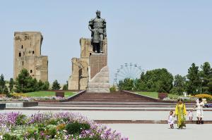 Usbekistan natürlich aktiv